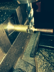 Milling the squared section