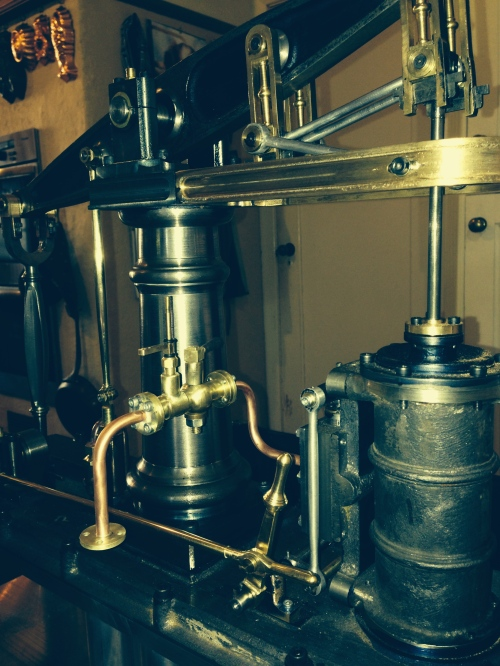 Beam Engine steam pipes made and installed