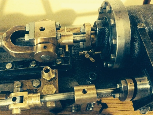 BOLTON 7 STATIONARY STEAM ENGINE CHANGES