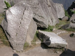 MachuPicchu quarry