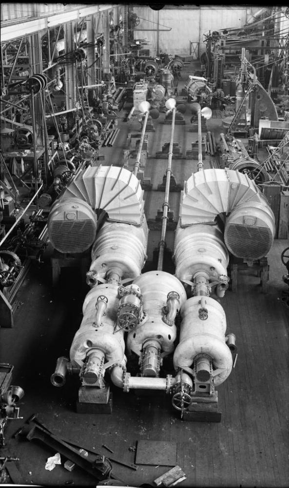 MAKING STEAM ENGINES, CIRCA 1905 (6/6)