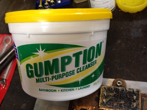 Gumption kitchen laundry cleaner