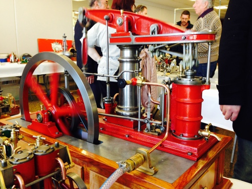A beautifully finished Bolton 12 beam engine