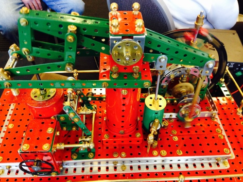 Another beam engine, this one made using Meccano.  Takes me back 55 years!