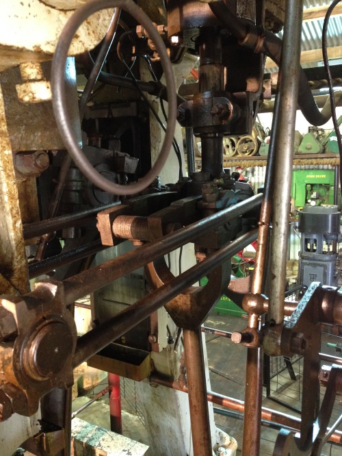 The low pressure cylinder Stephenson's link