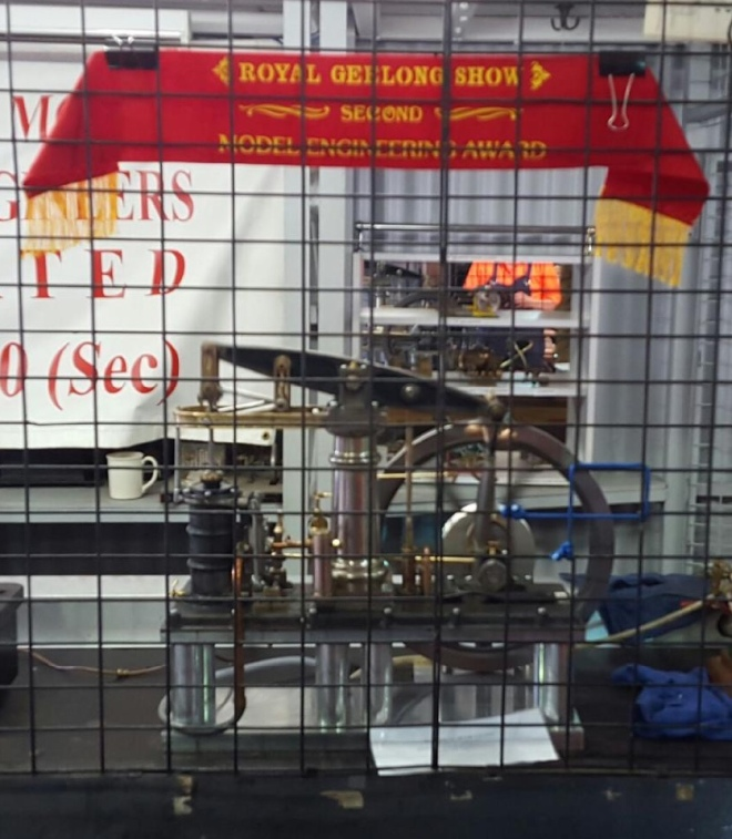 Model Bolton Beam Engine.
