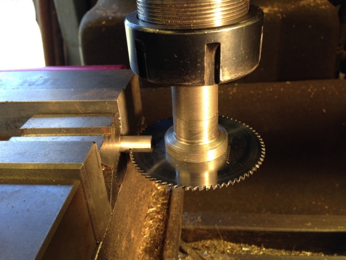Curodtting a 1.6mm slit in 10mm mild steel