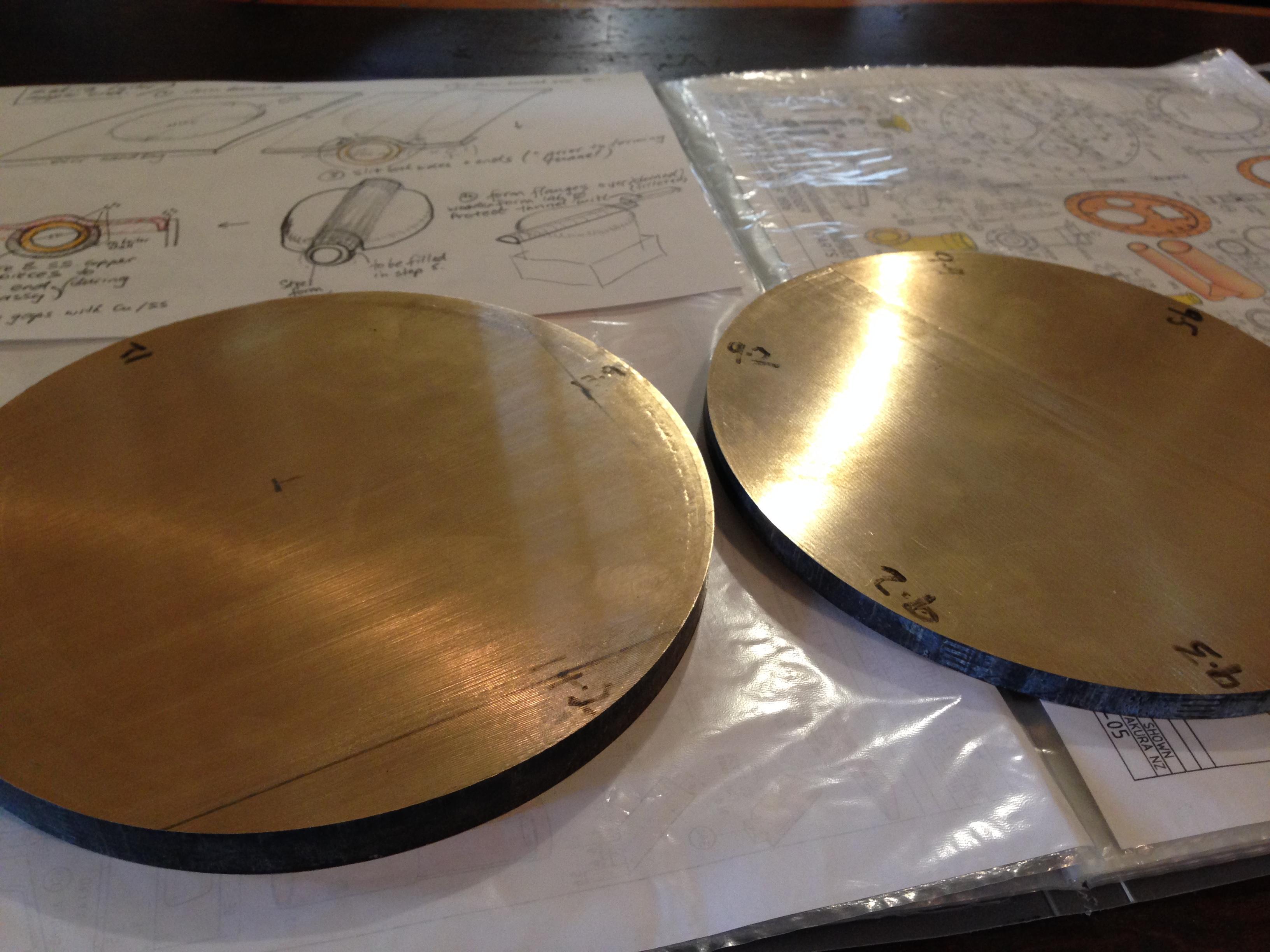 bronze blanks