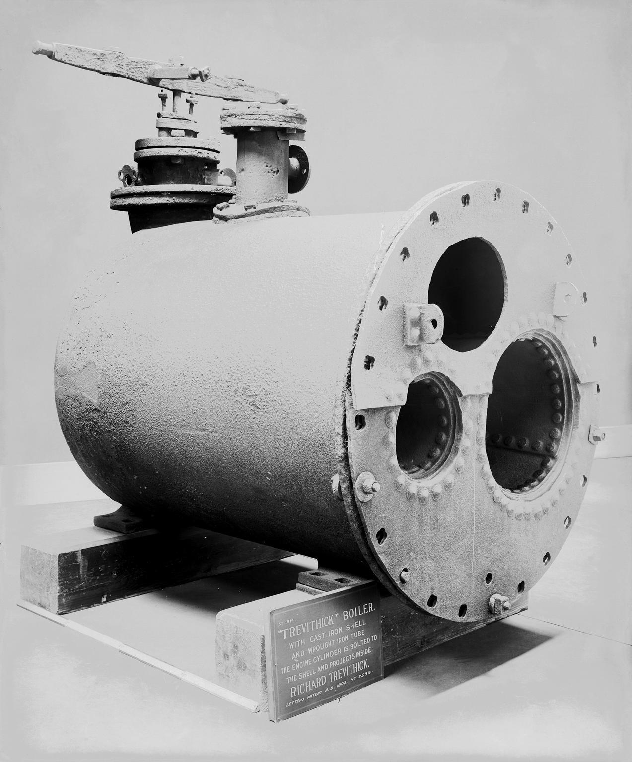 Trevithick boiler shell