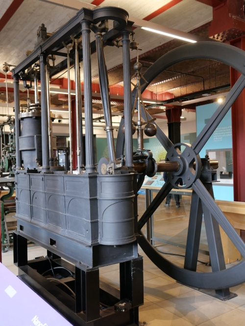 Beam engine unlabelled