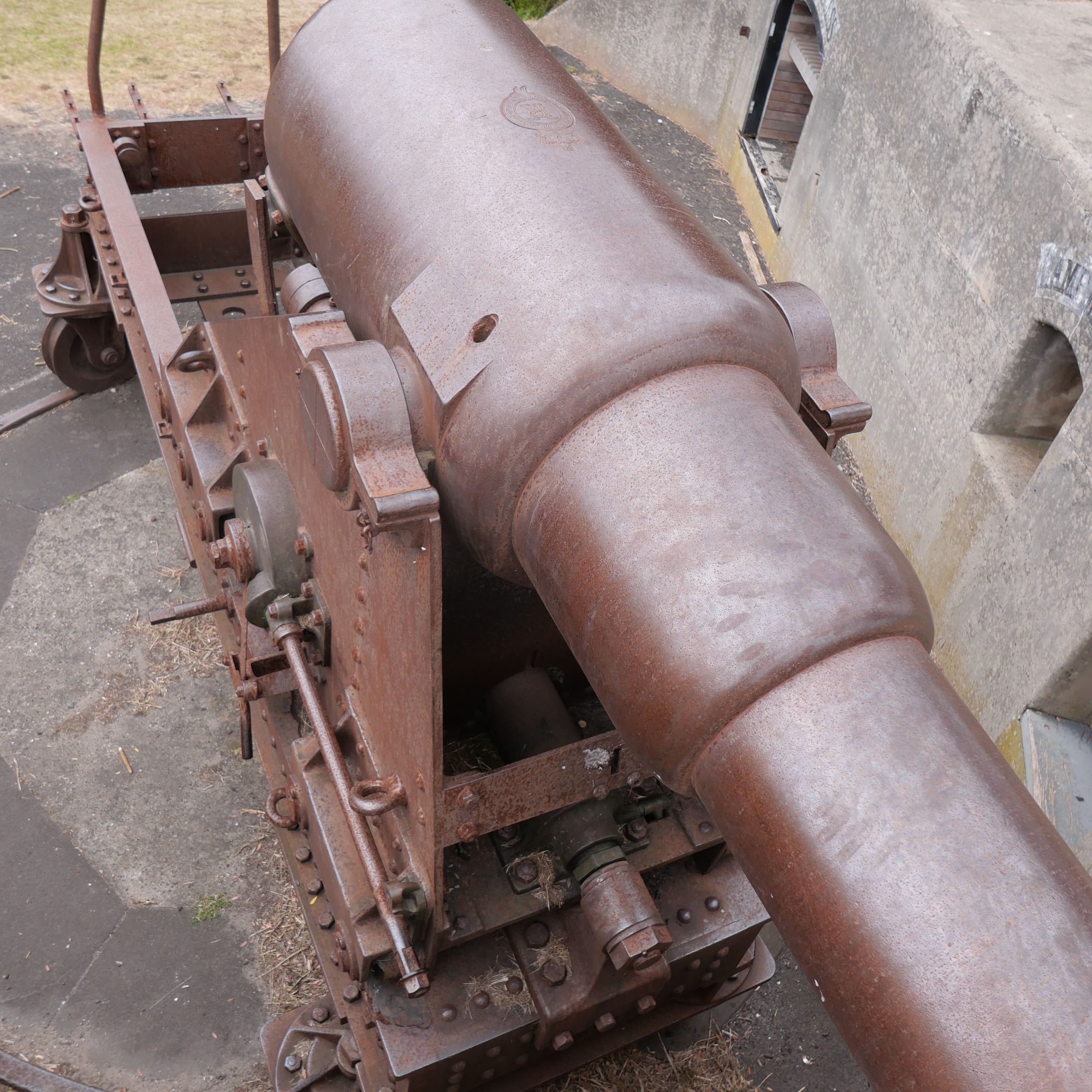 cannon from above front